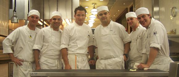 Quite possibly the most talented chefs I have worked with to date.